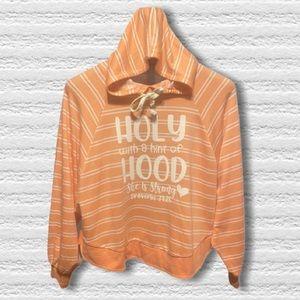 Holy hood graphic hoodie sweatshirt S/M